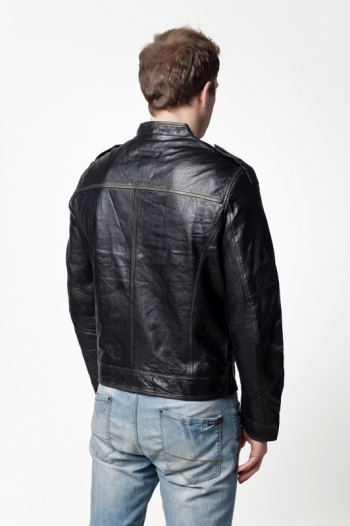 Кожаная куртка арт 4426