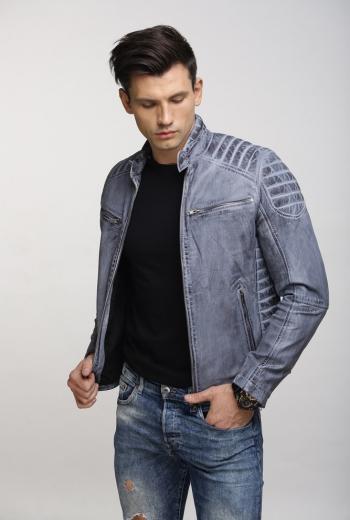 Кожаная куртка Art Werder