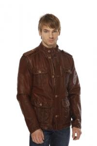 Кожаная куртка арт Ludger