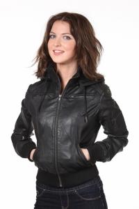 Кожаная куртка art Zurat Lady