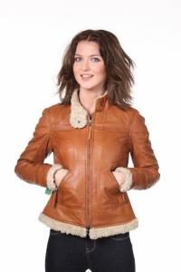Кожаная куртка art Furla