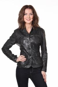 Кожаный пиджак art Gill