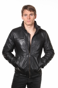 кожаная куртка art PQ 648