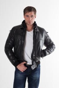 Кожаная куртка арт Barichello