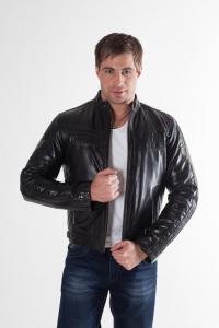 Кожаная куртка арт Dexter