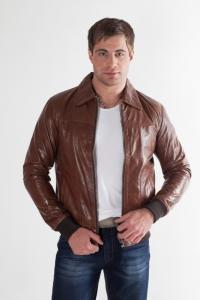 Кожаная куртка арт Deen