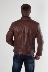 Кожаная куртка арт Graven