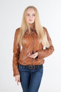 Кожаная куртка арт JACE