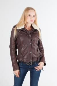 Кожаная куртка 4335