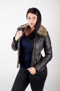 Кожаная куртка Арт 4672