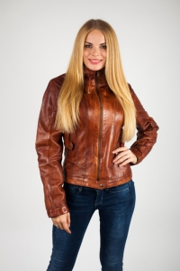 Кожаная куртка арт Daytona lady