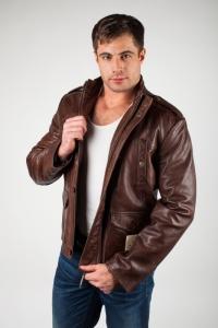 кожаная куртка арт Joran