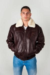 Кожаная куртка EVEREST