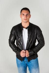 Кожаная куртка TIGHA 4548