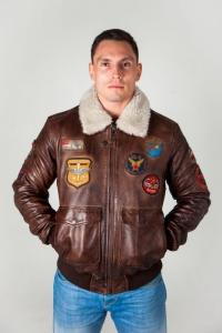 Кожаная куртка MAYTHIC