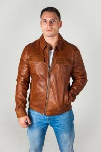 Кожаная куртка MAY