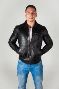Кожаная куртка CUSTOM