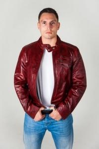 Кожаная куртка DY-2