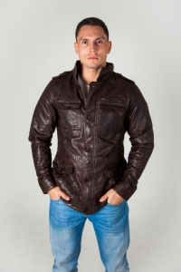 Кожаная куртка KANZAS PAZZLE