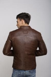 Кожаная куртка Art Rufus