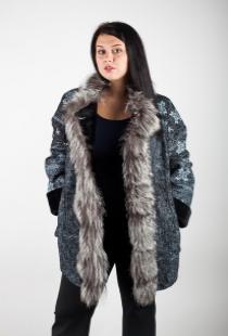 Куртки и дубленки для крупных девушек, plus size