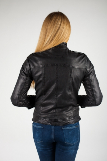 Кожаная куртка  Yan
