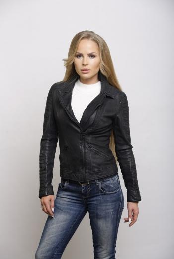 Кожаная куртка  Art Wafa