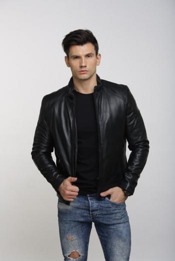 Кожаная куртка Art Grady