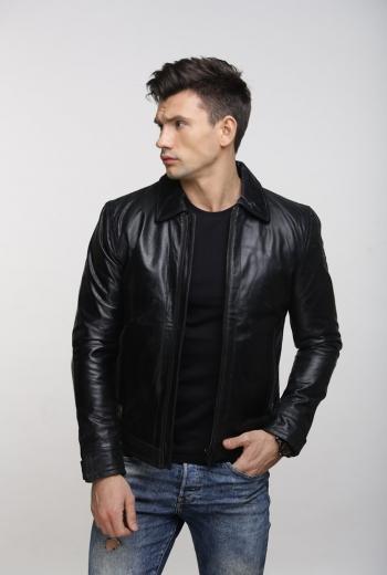 Кожаная куртка Art Stance