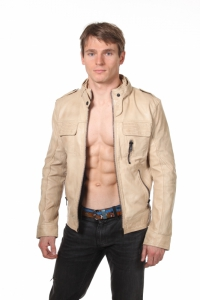 Кожаная куртка art Frame