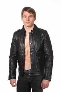 Кожаная куртка art Lorand