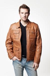 Мужская кожаная куртка арт. 4061