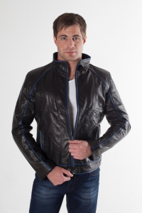Кожаная куртка арт 9842
