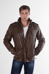 Кожаная куртка арт Albertine