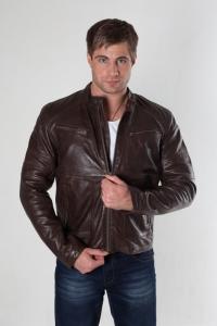 кожаная куртка арт Rommy