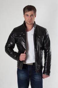 Кожаная куртка арт Olsen_2