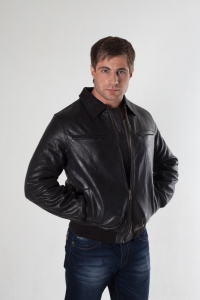 Кожаная куртка арт 723