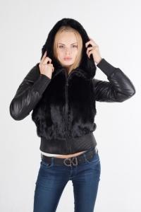 Куртка трансформер из меха норки