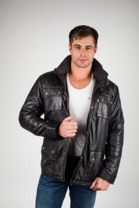 Кожаная куртка арт TORNADO