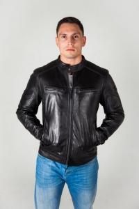 Кожаная куртка NEKRO