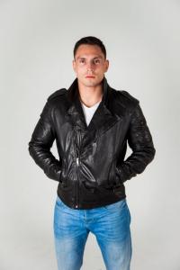 Кожаная куртка MONKEE