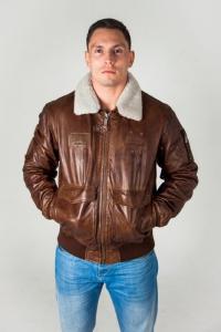 Кожаная куртка AIR BUS