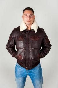 Кожаная куртка TOP GAN SHEEP