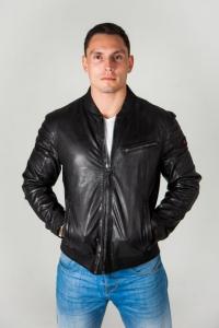 Кожаная куртка IAN