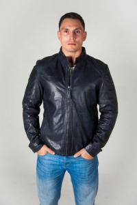 Кожаная куртка TRIO