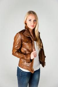 Кожаная куртка VF-700