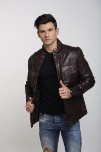 Кожаная куртка Art Torino