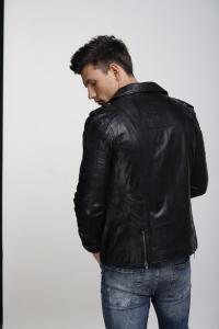 Кожаная куртка Art Neo